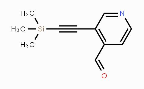 DY427259 | 222167-62-6 | 3-((TRIMETHYLSILYL)ETHYNYL)ISONICOTINALDEHYDE