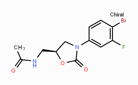 856677-05-9 | (5S)-N-[3-(4-BROMO-3-FLUOROPHENYL)-2-OXOOXAZOLIDIN-5-YLMETHYL]ACETAMIDE