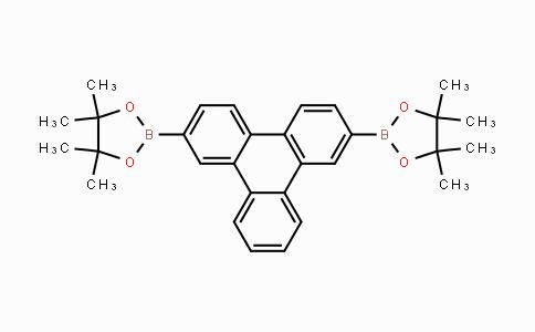 MC428375   929103-40-2   2,7-bis(4,4,5,5-tetramethyl-1,3,2-dioxaborolanyl)triphenylene