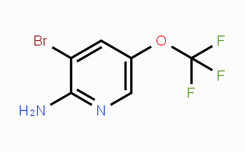 1361693-01-7 | 3-溴-5-(三氟甲氧基)吡啶-2-胺