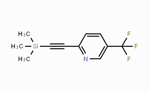 DY429765 | 1980063-10-2 | 5-(Trifluoromethyl)-2-(2-(trimethylsilyl)ethynyl)pyridine