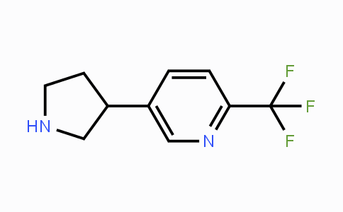 MC429904 | 1234482-76-8 | 5-(Pyrrolidin-3-yl)-2-(trifluoromethyl)pyridine