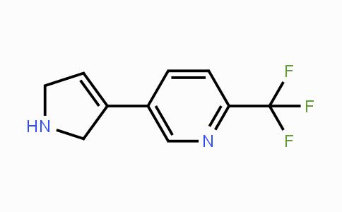 MC429905 | 2146052-67-5 | 5-(2,5-dihydro-1H-pyrrol-3-yl)-2-(trifluoromethyl)pyridine