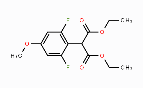 244092-40-8 | Diethyl 2-(2,6-difluoro-4-methoxyphenyl)malonate