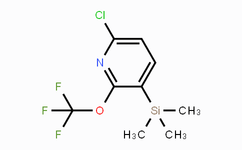 DY431694 | 1221172-02-6 | 6-Chloro-2-(trifluoroMethoxy)-3-(triMethylsilyl)pyridine