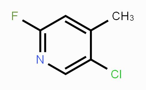 884494-88-6 | 5-Chloro-2-fluoro-4-methylpyridine