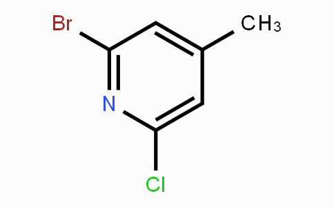 157329-89-0 | 2-Bromo-6-chloro-4-methylpyridine