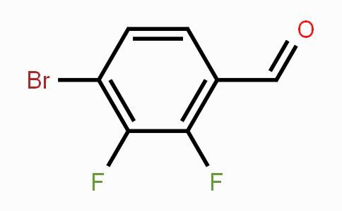 586382-05-0   4-Bromo-2,3-difluorobenzaldehyde