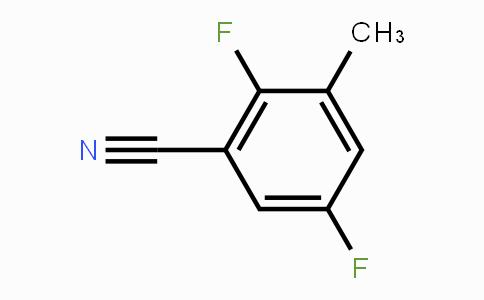 1003712-20-6 | 2,5-Difluoro-3-methyl benzonitrile