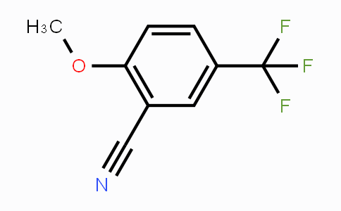 34636-92-5 | 2-Methoxy-5-(trifluoromethyl)benzonitrile