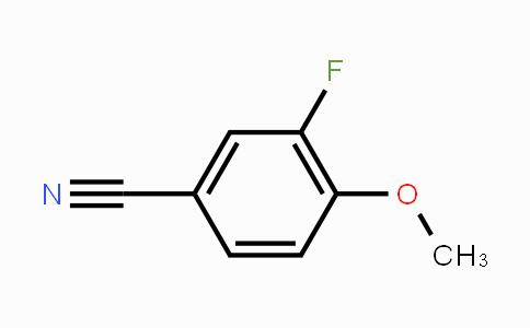 331-62-4 | 3-Fluoro-4-methoxybenzonitrile