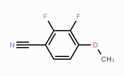 256417-12-6 | 2,3-Difluoro-4-methoxybenzonitrile