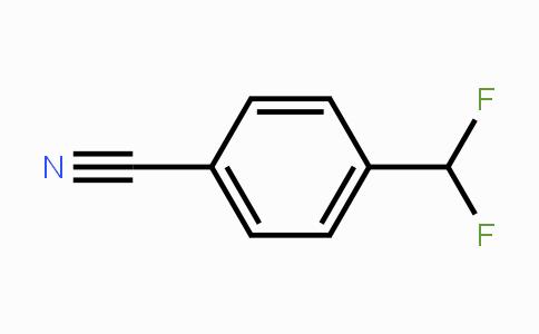 55805-10-2 | 4-(DifluoroMethyl)benzonitrile