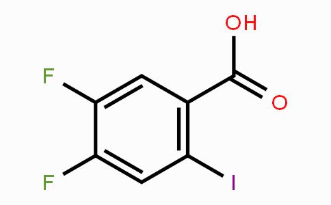 130137-05-2   4,5-Difluoro-2-iodobenzoic acid