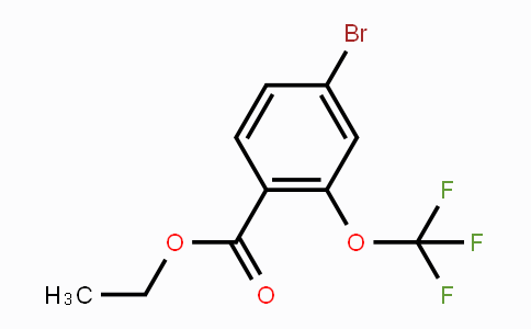 933785-18-3 | Ethyl 4-bromo-2-(trifluoromethoxy)benzoate