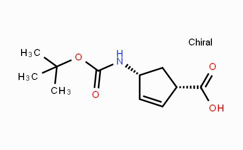 108999-93-5 | (1R,4S)-N-Boc-1-aminocyclopent-2-ene-4-carboxylic acid
