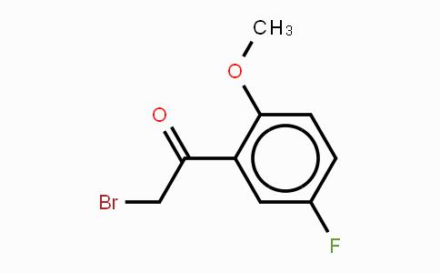 343-04-4 | a-Bromo-5'-fluoro-2'-methoxyacetophenone