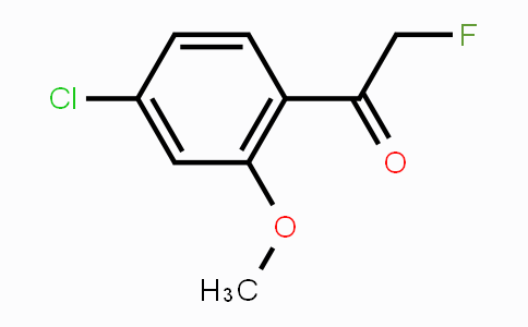 1110663-19-8 | 4-Chloro-2-fluoro-6-methoxyacetophenone