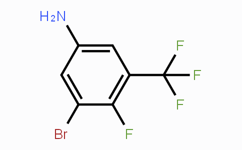 1233026-11-3 | 3-Bromo-4-fluoro-5-trifluoromethyl-phenylamine