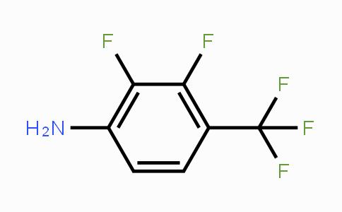 124185-34-8   2,3-Difluoro-4-(trifluoromethyl)aniline