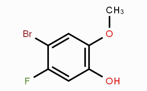 886510-25-4 | 4-Bromo-5-fluoro-2-methoxyphenol