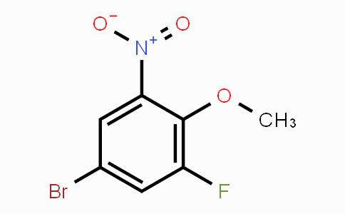 74266-66-3   4-Bromo-2-fluoro-6-nitroanisole