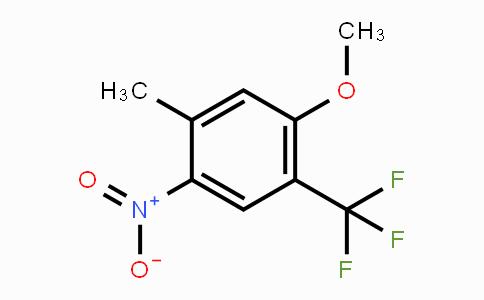 933673-45-1 | 5-Methyl-4-nitro-2-(trifluoromethyl)anisole