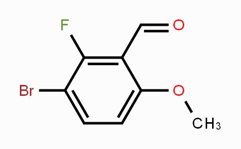 1160653-94-0 | 3-Bromo-2-fluoro-6-methoxybenzaldehyde