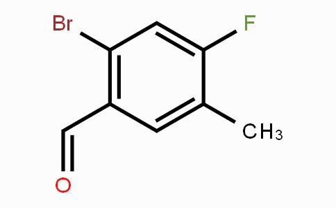 916792-17-1 | 2-Bromo-4-fluoro-5-methylbenzaldehyde