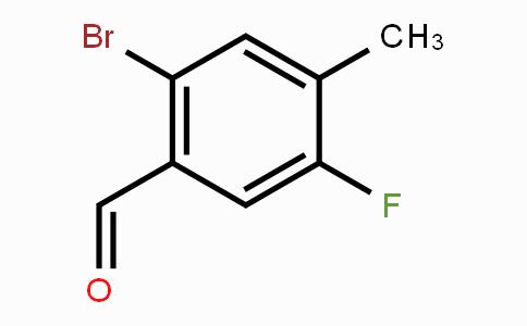 916792-21-7   2-Bromo-5-fluoro-4-methylbenzaldehyde