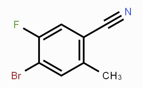 MC433744 | 916792-15-9 | 4-Bromo-5-fluoro-2-methylbenzonitrile