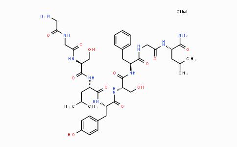 MC435058 | 123209-96-1 | H-Gly-Gly-Ser-Leu-Tyr-Ser-Phe-Gly-Leu-NH2
