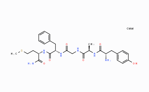 61090-95-7   H-Tyr-D-Ala-Gly-Phe-Met-NH2