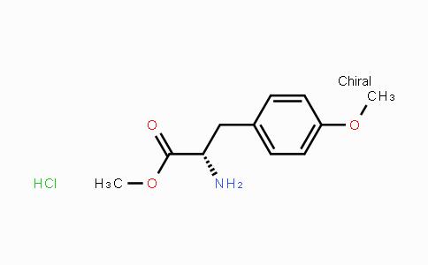 7479-01-8 | (S)-Methyl 2-amino-3-(4-methoxyphenyl)propanoate hydrochloride