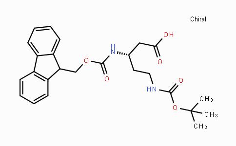 880644-97-3 | (S)-N-Beta-Fmoc-N-delta-Boc-3,5-diaminopentanoic acid
