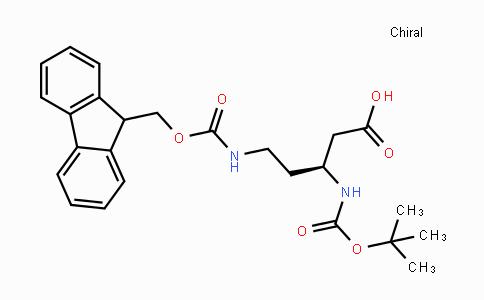 2044710-07-6 | (S)-N-Beta-Boc-N-delta-Fmoc-3,5-diaminopentanoic acid