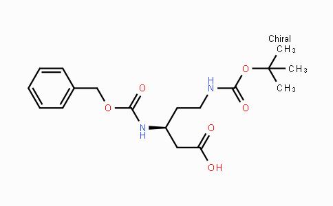 503601-16-9 | (S)-N-Beta-Cbz-N-delta-Boc-3,5-diaminopentanoic acid