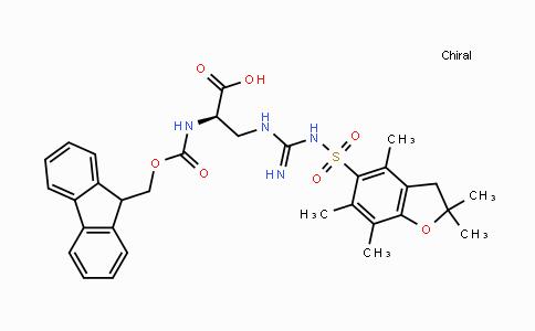 1313054-40-8 | Fmoc-D-(3,(Pbf)Guanidino)-Ala-OH