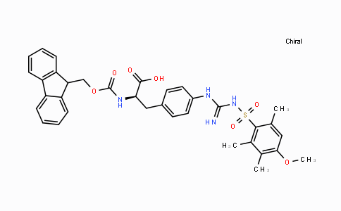 2044710-85-0 | Fmoc-D-(4,( Mtr)-guanido)Phe-OH