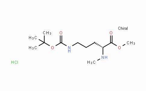 2044710-39-4 | N-Me-D-Orn(Boc)-OMe.HCl