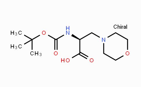 1251904-26-3 | Boc-3-(1-Morpholinyl)-L-Ala-OH