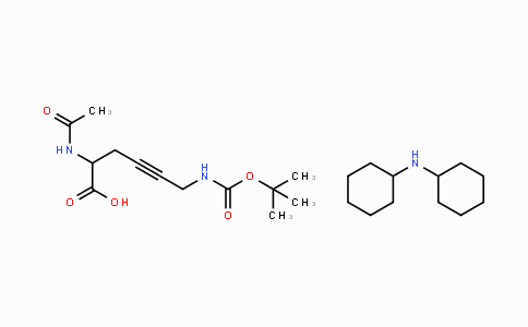 90102-79-7 | DL-2-Acetamido-6-(Boc-amino)-4-hexynoic acid DCHA