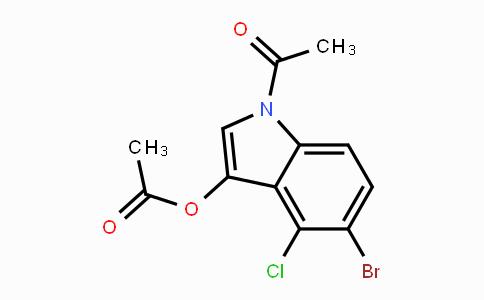 3030-06-6 | 1-Acetyl-5-bromo-4-chloro-1H-indol-3-yl acetate