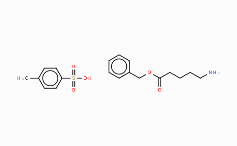 63649-14-9 | δ-Aminovaleric acid-benzyl ester p-tosylate