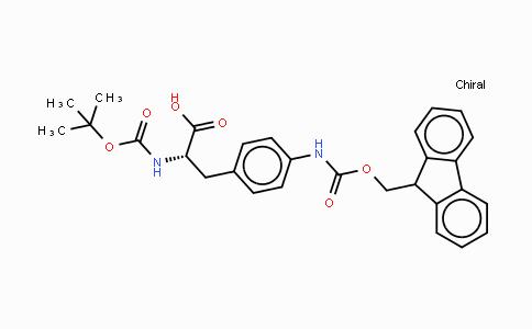 114346-31-5 | Boc-p-amino-Phe(Fmoc)-OH
