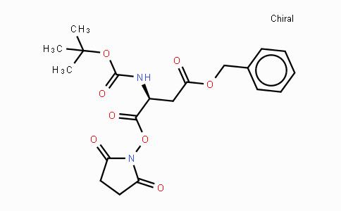 13798-75-9 | Boc-Asp(OBzl)-OSu