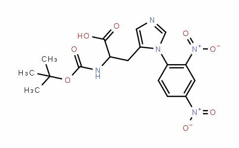204125-02-0 | Boc-D-His(Dnp)-OH isopropanol solvate