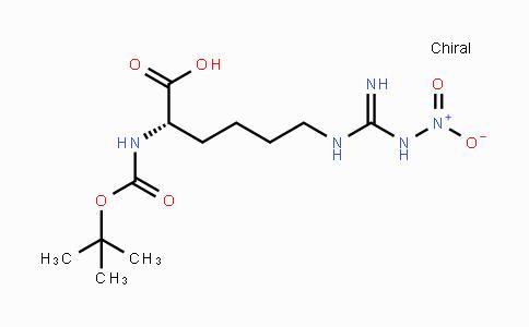 28968-64-1 | Boc-Homoarg(NO₂)-OH