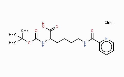 122532-80-3 | Boc-Lys(2-picolinoyl)-OH