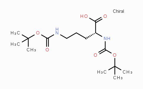 137524-82-4 | Boc-D-Orn(Boc)-OH
